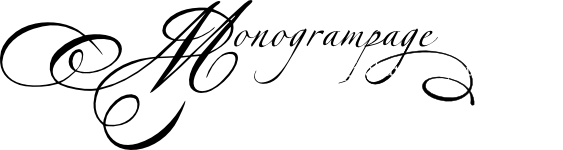 The Monogram Page - Digital art for your wedding
